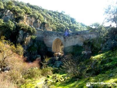 Río Manzanares - Puente Marmota; madrid nieve; nieve en la sierra de madrid;escapadas comunidad de